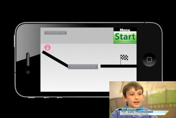 ตะลึง! เด็กอายุ 14 สร้างเกม iPhone สุดฮิต 'Bubble Ball' ตบหน้า Angry Birds