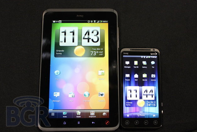[CTIA 2011] Sprint เปิดตัวมือถือสามมิติ HTC EVO 3D และแท็บเล็ต HTC View 4G