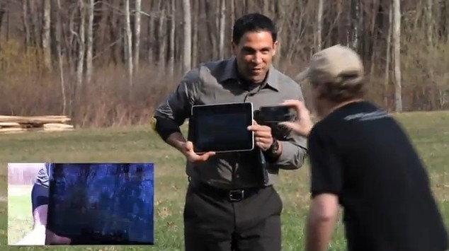 อึ้ง! ทดสอบ ปล่อย iPad  ที่ 500 ฟุต ไม่พัง