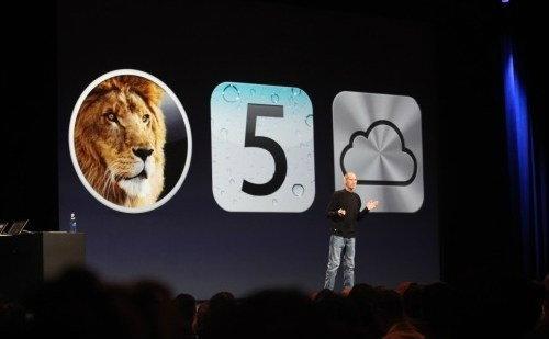 สตีฟจอบส์เปิดตัว iCloud ในงาน WWDC