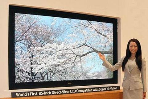 ชาร์ปผุดทีวีละเอียดกว่าฟูลเอชดี 16 เท่า!!!