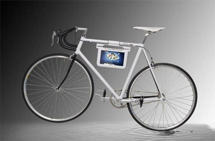 Galaxy Tab 10.1 + จักรยาน Fixed Gear