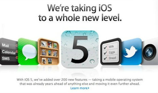 "iOS 5 เปิดให้""อัพเกรด""ได้แล้ว แต่ว่า"