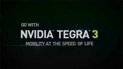 Nvidiaโชว์พลังชิป Tegra 3 ที่มาพร้อมกับQuad-Core