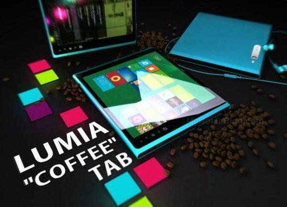 เผยคอนเซปท์ของ Lumia COFFEE Tab แท็บเล็ตรุ่นแรกจากโนเกีย (Nokia) คือ สมาร์ทโฟน Lumia ขยายร่าง
