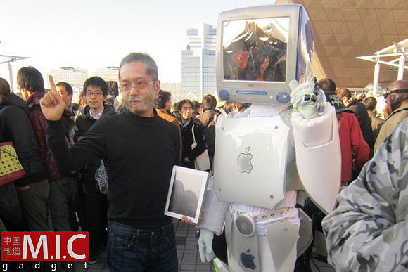 ทำไปได้! ตามไปดู Mac Man ที่จีนกัน!