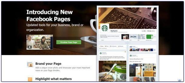 มาแล้ว Facebook Pages แบบใหม่บังคับใช้ 30 มีนาคมนี้