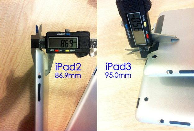 ลือ!! iPad รุ่นใหม่หนากว่าของเดิม