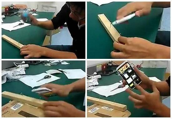 ใช้แทนค้อน! HTC ONE X รุ่นใหญ่ใจต้องถึง ทดสอบความทนแบบช่างไม้