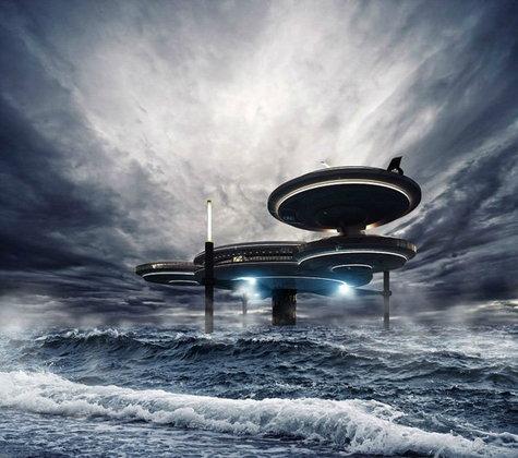 โรงแรมใต้น้ำ โปรเจ็กใหม่ของดูไบ