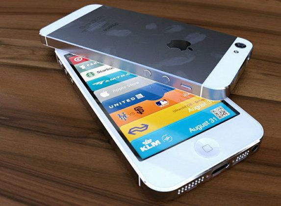 The New iPhone (iPhone 5) สีขาวก็แหล่มดีนะ