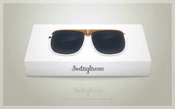 Instaglasses คอนเซปท์แว่นตา Instagram ถ่ายภาพได้ พร้อมความสามารถในการใส่ฟิลเตอร์ในตัว