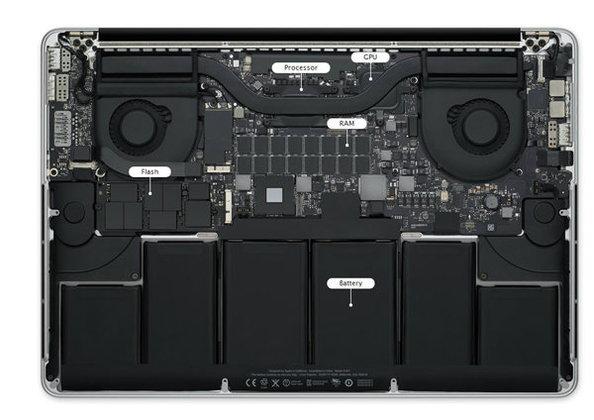 เผยเปลี่ยนแบตเตอรี่ Retina MacBook Pro อาจต้องเสียเงินถึง 15,000 บาท!