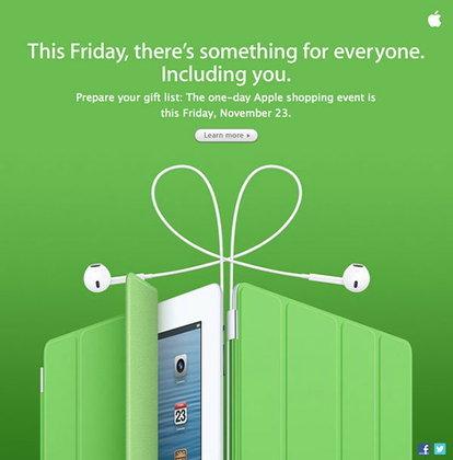 Apple ประกาศลดราคา ในวัน Black Friday ศุกร์ 23 พฤศจิกายนนี้