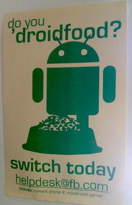 Facebook หนุนพนักงานให้ใช้ Android