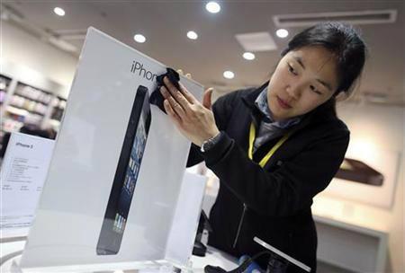 iPhone 5 ในจีน 3 วัน 2 ล้านเครื่อง