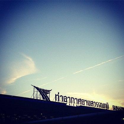 สนามบินสุวรรณภูมิ สุดเจ๋ง !! เป็นสถานที่ยอดนิยมใน Instagram ของปี 2012