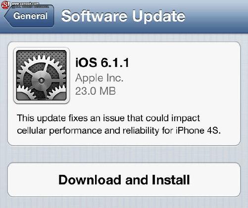 Apple ออก iOS 6.1.1 แก้ปัญหาเชื่อมต่อ 3G ไม่ได้แล้ว