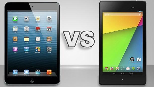 iPad mini ชน New Nexus 7 ใครเจ๋งกว่า