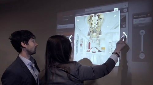 Ubi-Interactive ให้ภาพเป็นทัชสกรีน