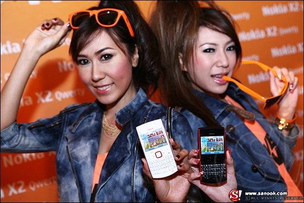Nokia X2-QWERTY เป็นโทรศัพท์ซีรี่ส์ 40