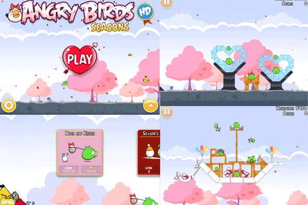 Angry Birds ออกเวอร์ชั่นพิเศษต้อนรับ Valentine