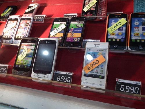 """เก็บตกสมาร์ทโฟน 5 รุ่นสุดฮิต """"MobileExpo 2011″"""