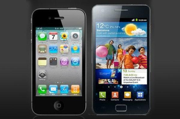 เปรียบมวย Galaxy S2  กับ iPhone 5