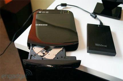 Samsung SE-208BW Smart Media Hub รองรับDVD และ Wi-Fi