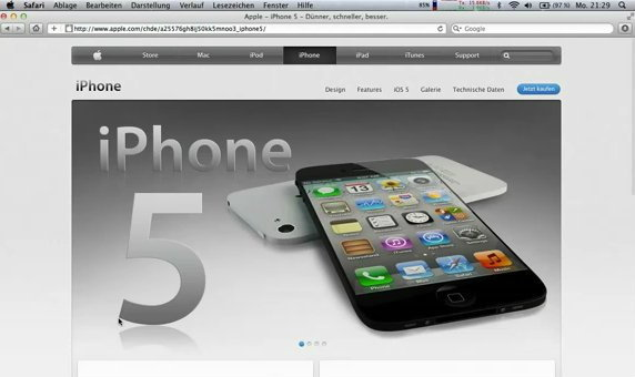 iPhone 5 จะเปิดตัวโดย Apple ในวันที่ 21 กันยายนก่อนเริ่มขายจริง 7 ตุลาคมนี้?