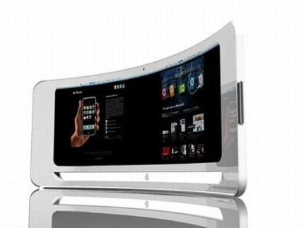 Apple อาจจะมีผลิตภัณฑ์ตัวใหม่ในปี 2012 โดยลักษณะเป็นหน้าจอสัมผัสแบบโค้งว้าวพิเศษ