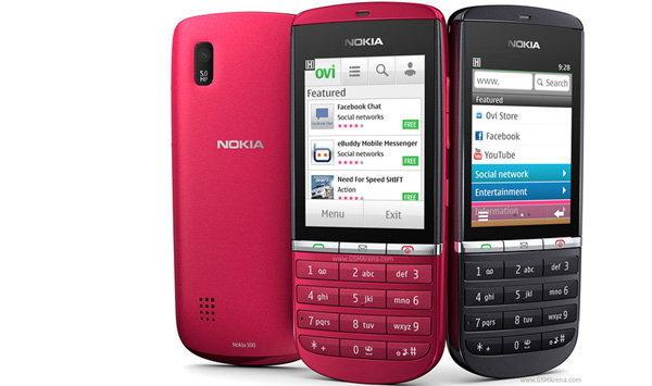 Nokia Asha 300 โทรศัพท์มือถือตระกูล Asha รุ่นแรกลุยตลาดเมืองไทยแล้ว