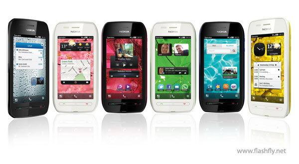 โนเกียวางจำหน่าย Nokia Asha 303 ฟีเจอร์โฟนสุดฉลาด และ Nokia 603 สมาร์ทโฟนสีสวยสุดประหยัด