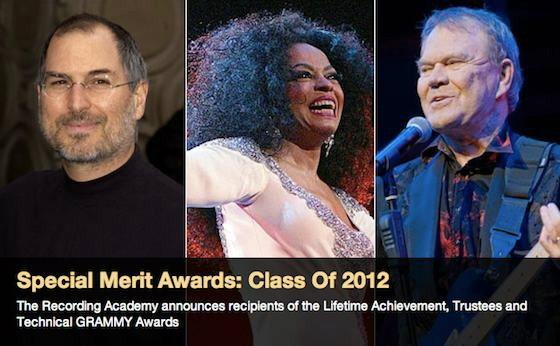 Grammy ดัน Steve Jobs ขวัญใจคนดนตรีตัวจริงแทนที่ เสก โลโซ!