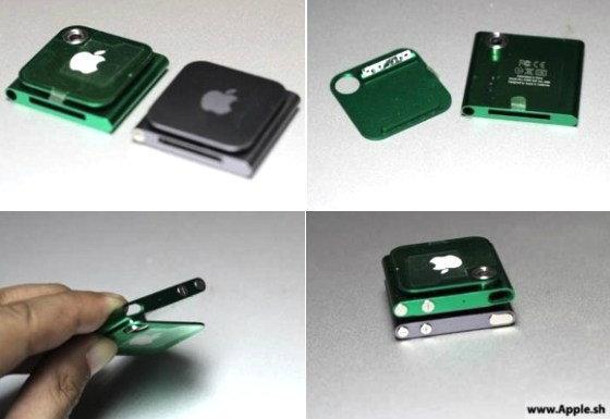 ภาพหลุด iPod Nano ใหม่,กล้อง 1.5MP