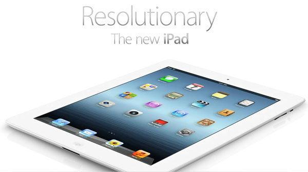 Apple เปิดตัว The new iPad มาพร้อม Retina Display, A5X Quad-Core Graphics, กล้อง 5 ล้านพิกเซล