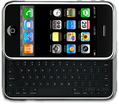 Apple อยากให้ iPhone มีคีย์บอร์ดด้วย?