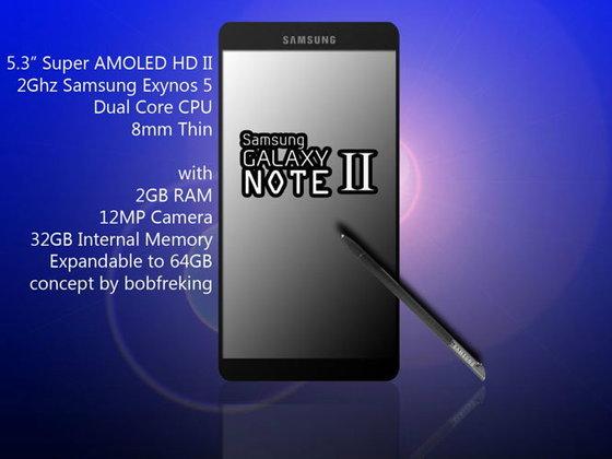 Samsung Galaxy Note 2 จะเปิดตัวกันยายนนี้ พร้อมสเปคหลุด!?