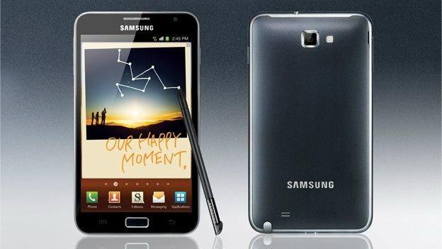 ข่าวลือ Samsung Galaxy Note II(Samsung Galaxy Note 2) ใช้หน้าจอ OLED screen แบบยืดหยุ่น และโค้งงอได้