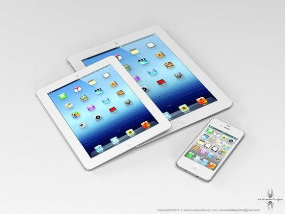 iPad Miniจอ 1024 x 768 พิกเซล จะมาเดือนตุลาคมนี้