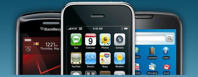 อยากรู้เซเล็บคนไหนใช้ iPhone, Android, BB เข้ามาดูกันเลย!