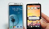 เทียบ Samsung Galaxy S III กับมือถือตัวท็อป iPhone 4S, HTC One X, Nokia Lumia 900
