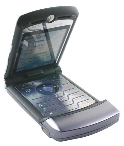 รีวิว Motorola V3i