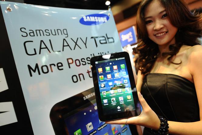 "Mobile Expo 2011 ""ซัมซุง กาแล็คซี่ แท็บ"" ราคาแค่ 990 บ./ด."