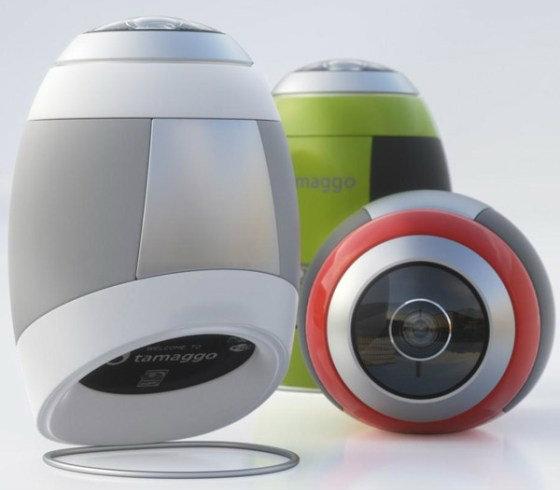 """CES 2012: กล้อง""""ไข่""""ถ่ายรูป 360 องศา"""