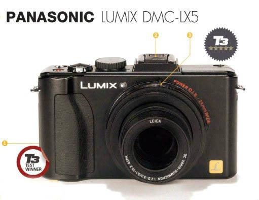 PANASONIC LUMIX DMC-LX5 สุดยอดกล้องคอมแพคท์