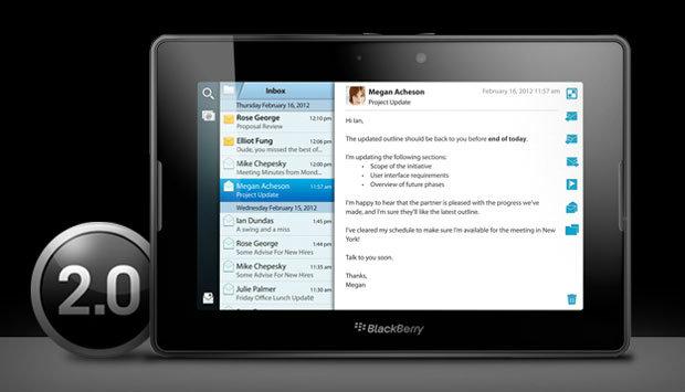 PlayBook OS 2.0 มาแล้ว