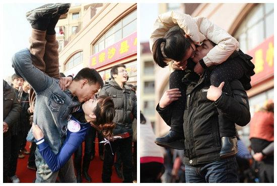 ท้าแข่งจูบมาราธอนลุ้นรับ iPad 2
