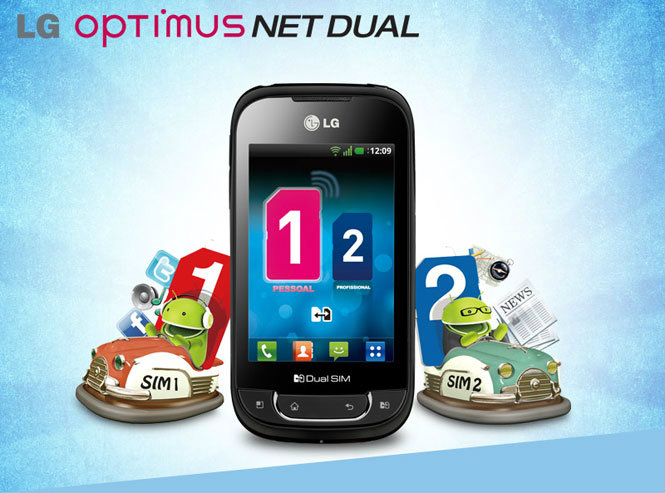 Review LG Optimus Net Dual -- Android 2 SIM Standby
