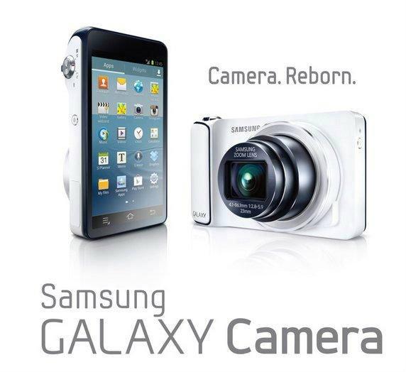 Samsung เปิดตัว Samsung Galaxy Camera กล้องถ่ายรูปพลัง Quad-core รัน Jelly Bean